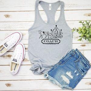 Cinderella Coach Tank Top